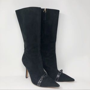 KATE SPADE SUEDE LEATHER BOOTS